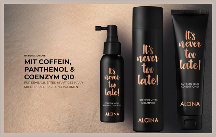 """""""It´s never too late"""" von ALCINA - It´s never too late von ALCINA   Beautycon-shop.at"""