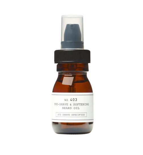 DEPOT No. 403 Pre-Shave & Softening Beard Oil Fresh 30ml