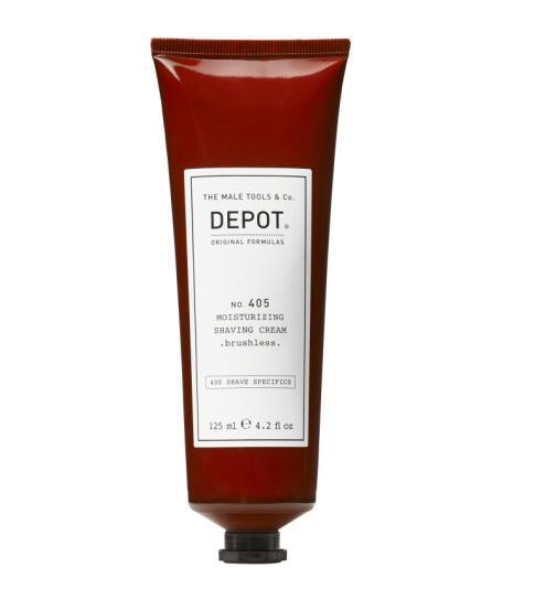 DEPOT No. 405 Moisturizing Shaving Cream . brushless 125ml