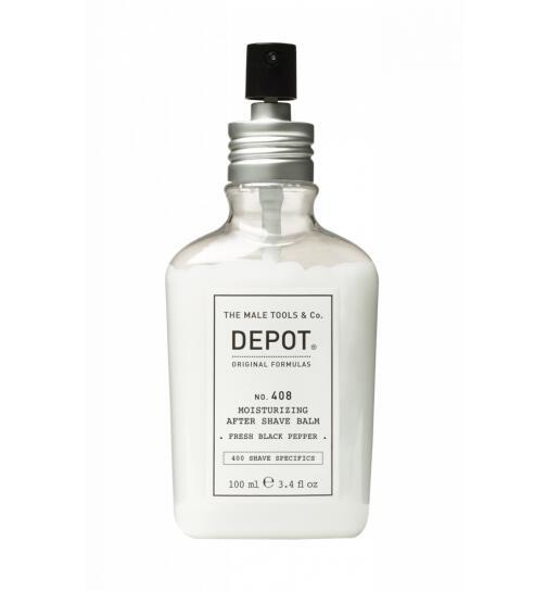 DEPOT No. 408 Moisturizing After Shave Balm Fresh Black Pepper 100ml