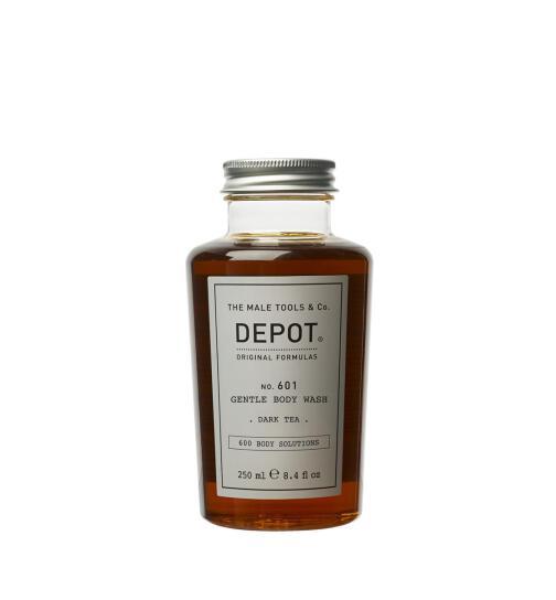 DEPOT No. 601 GENTLE BODY WASH dark tea 250ml