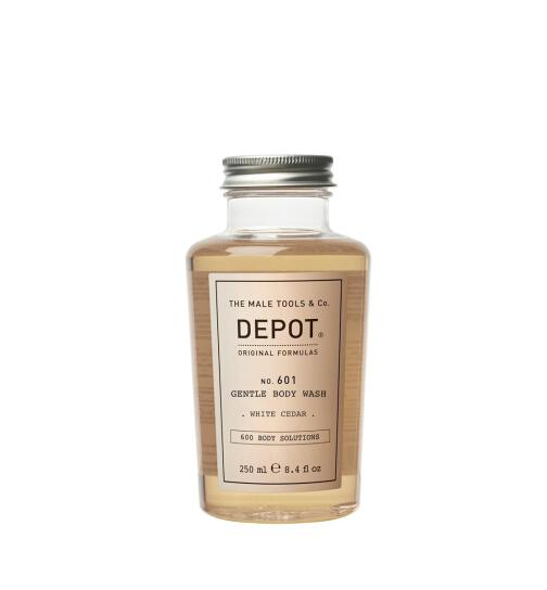 DEPOT No. 601 GENTLE BODY WASH white cedar 250ml