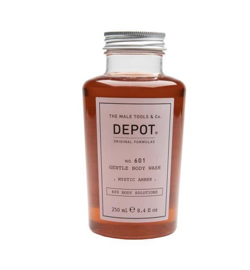 DEPOT No. 601 GENTLE BODY WASH mystic amber 250ml