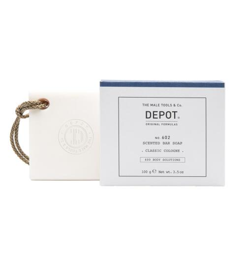 DEPOT No. 602 SCENTED BAR SOAP classic cologne 100g