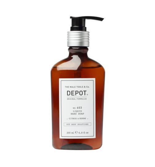 DEPOT No. 603 LIQUID HAND SOAP .citrus & herbs. 200ml