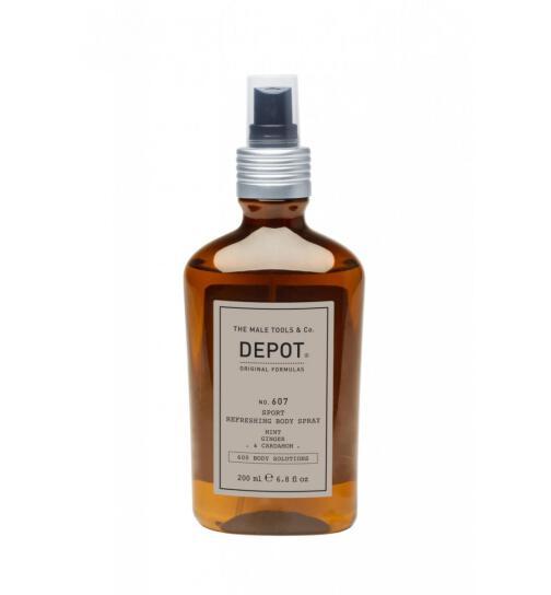 DEPOT No. 607 SPORT REFRESHING BODY SPRAY 200ml