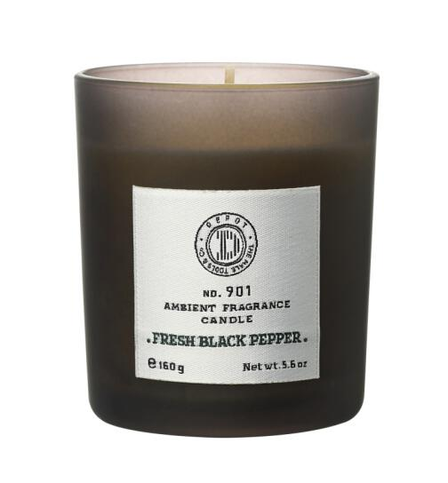 DEPOT No. 901 AMBIENT FRAGRANCE CANDLE fresh black pepper 160g