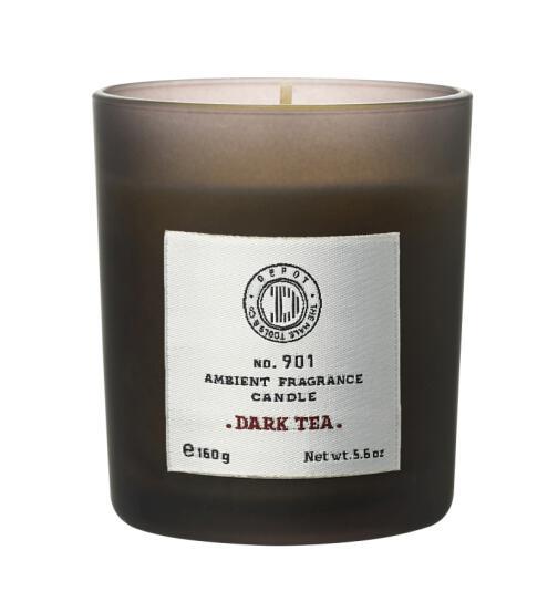DEPOT No. 901 AMBIENT FRAGRANCE CANDLE dark tea 160g