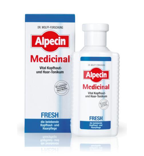 ALPECIN Medizinal FRESH Vital Kopfhaut- u. Haartonikum 200 ml