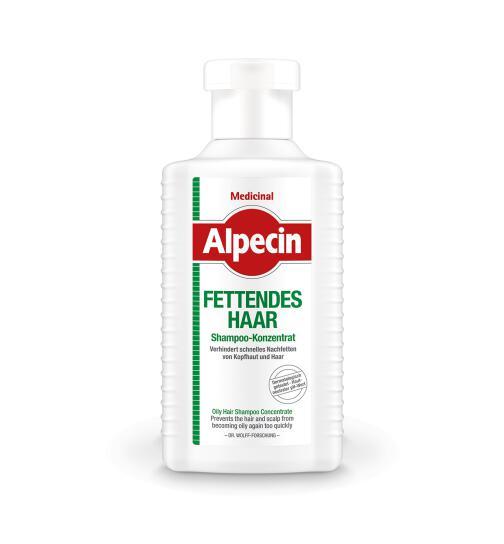 ALPECIN Medicinal Shampoo-Konzentrat fettendes Haar 200 ml