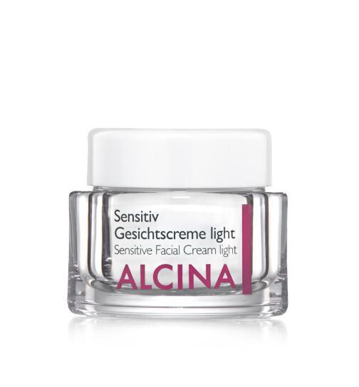 Alcina Sensitiv Gesichtscreme light unparf. 50 ml